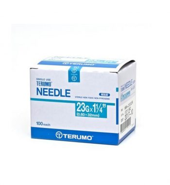 TERUMO SYRINGE WITH NEEDLE 3ML 23G x 1 1/4""