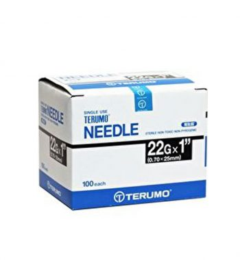 TERUMO SYRINGE WITH NEEDLE 3ML 22G x 1 1/2""