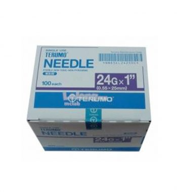 TERUMO SYRINGE WITH NEEDLE 3ML 24G X 1 ""