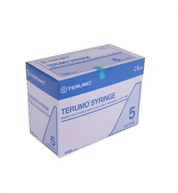 TERUMO SYRINGE WITHOUT NEEDLE 5ML SLIP TIP