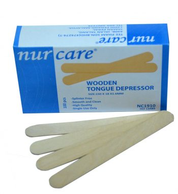 Wooden Tongue Depressor