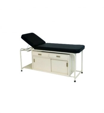 EXAMINATION COUCH WITH CABINET & 2 DRAWERS - VS 118-B