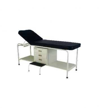 EXAMINATION COUCH WITH DRAWERS & STEP STOOL- VS 117